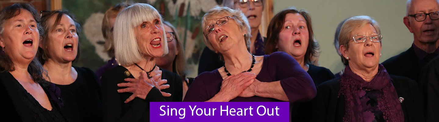 Sing your heart out - long copy